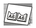 A6 dvě kapsy